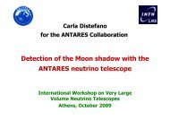 Detection of the Moon shadow with the ANTARES neutrino telescope