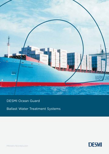 DESMI Ocean Guard Ballast Water Treatment Systems