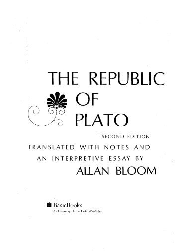 was plato a totalitarian