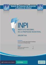 Boletín de Patentes de Invención y Modelos de Utilidad - Instituto ...