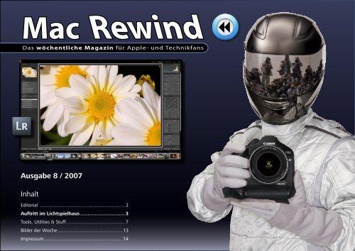 Mac Rewind - Issue 8/2007 - MacTechNews.de - Mac Rewind