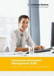Enterprise Information Management (EIM) - Prozessoptimierung und ...