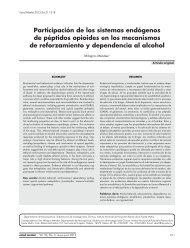 Participación de los sistemas endógenos de péptidos opioides en ...