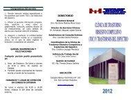 DIRECTORIO - Instituto Nacional de Psiquiatría