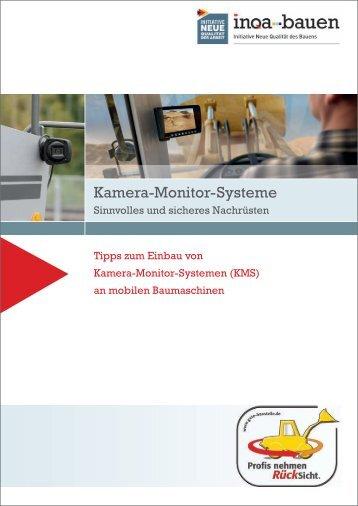 Kamera-Monitor-Systeme - Initiative Neue Qualität der Arbeit