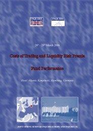 Summary of the Seminar - Inquire Europe