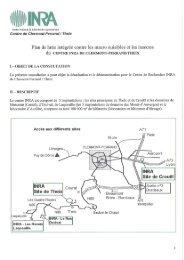 Plan de lutte intégrée contre les macro nuisibles et les insectes du ...
