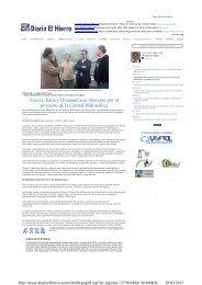 Grecia, Italia y Dinamarca se interesan por el proyecto de la ... - INRES