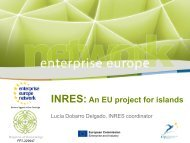 INRES: An EU project for islands