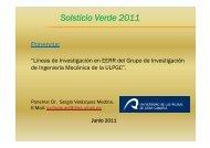 Solsticio Verde 2011 - INRES