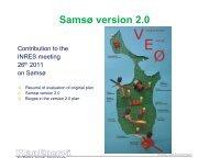 Samsø version 2.0 - INRES
