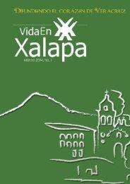 Revista Cultural Vida En Xalapa Edición Nº 1 Marzo 2014