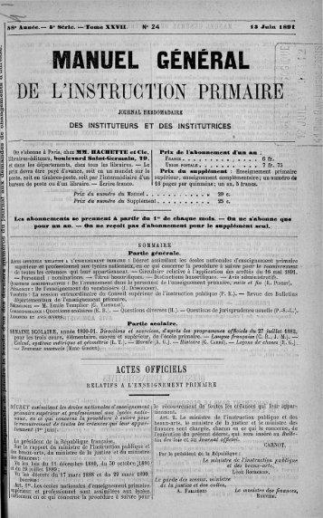 MANUEL GÉNÉRAL - Institut français de l'éducation