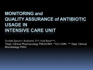 MONITORING and QUALITY ASSURANCE of ANTIBIOTIC ... - INRUD