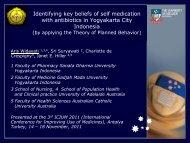 Identifying key beliefs of self medication with antibiotics in ... - INRUD