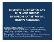 computer alert system and telephone support to improve ... - INRUD