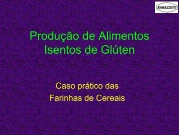 Produção de alimentos isentos de glúten: caso prático das farinhas ...