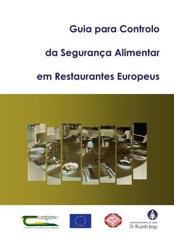 Guia para Controlo da Segurança Alimentar em Restaurantes ...