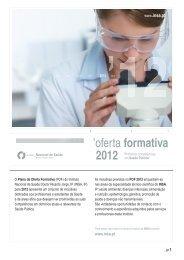 Oferta Formativa INSA 2012_a.ai - Instituto Nacional de Saúde Dr ...
