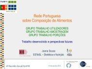 Diapositivo 1 - Instituto Nacional de Saúde Dr. Ricardo Jorge