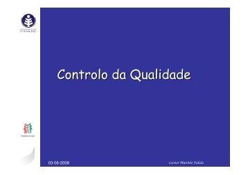 Controlo da Qualidade