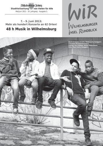 in Wilhelmsburg - Inselrundblick