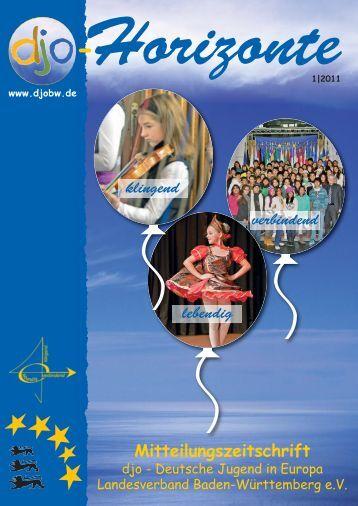 Aus den Gruppen - Djo-Deutsche Jugend in Europa