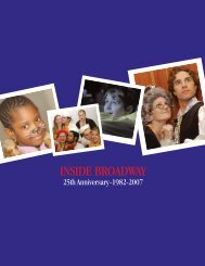 IB ANNIVERSARY JOURNAL for pdf - Inside Broadway