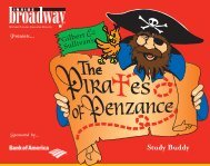 The Pirates of Penzance Study Guide - Inside Broadway
