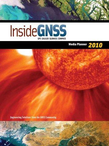 Media Planner 2010 - Inside GNSS