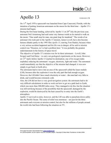 Printables Apollo 13 Worksheet collection of apollo 13 worksheet answers bloggakuten secretlinkbuilding