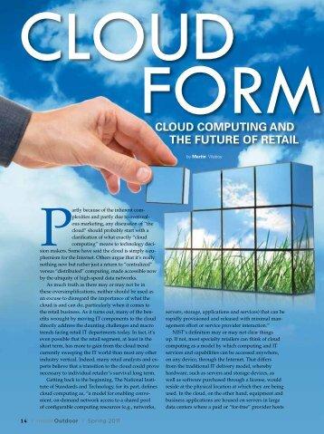 Cloud at Retail - Outdoor Retailer