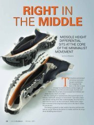 The Midsole Differential Difference -- Winter 2011