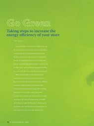 Going Green at Retail -- Winter 2006