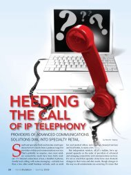 VoIP for Retail --Spring 2008