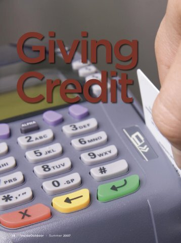 Promotional Financing for Small Retailers - Summer 07