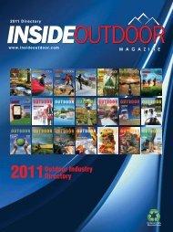 2011 Directory - InsideOutdoor Magazine