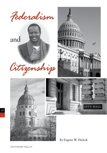 Federalism and Citizenship [PDF] - InsiderOnline.org