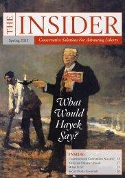 Spring 2011 issue of The Insider - InsiderOnline.org