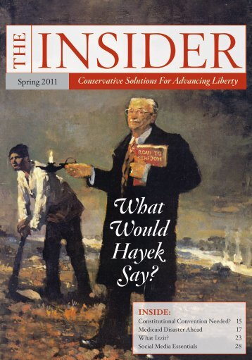 Spring 2011 issue of The Insider - InsiderOnline.org