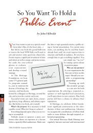 So You Want to Hold a Public Event [PDF] - InsiderOnline