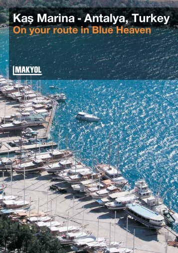 Kafl Marina - Antalya, Turkey - Segel-Insider Türkei
