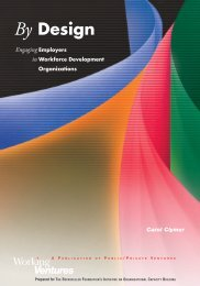 By Design: Engaging Employers in Workforce Development ...
