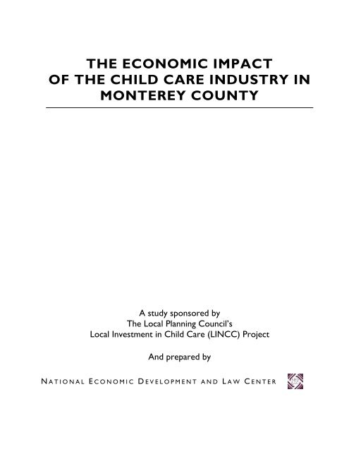 Section 1 - Insight Center for Community Economic Development
