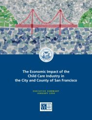 The Economic Impact of the Child Care Industry in the City and ...