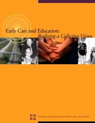 Early Care and Education: Realizing a Collective Vision