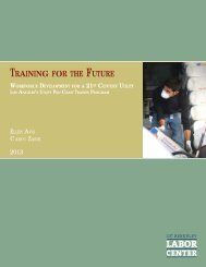 Training for the Future - Insight Center for Community Economic ...