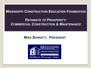 Pathways to Prosperity: Commercial Construction and Maintenance