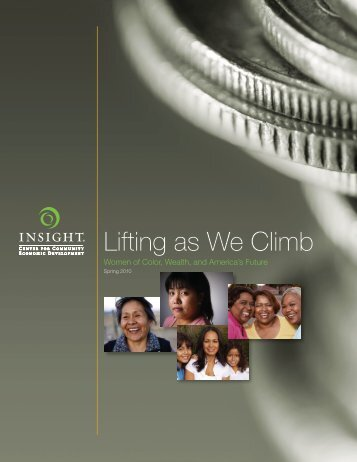 Lifting as We Climb - Insight Center for Community Economic ...