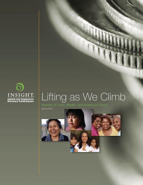 Lifting as We Climb - Insight Center for Community Economic ...